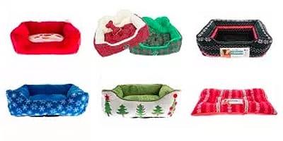 Weihnachtshundebetten, die wir lieben - 15 festliche Optionen
